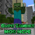 MOD PE Giant Zombies Game