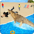 Hungry Crocodile Simulator Attack Game
