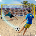 Shoot Goal - Beach Soccer Game Game