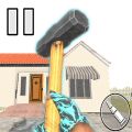 Granny Kick Neighbor - Gun Shooter: Shooting Games Game