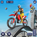 Stunt Bike Racing Tricks 2 - Ramp Bike Impossible Game