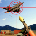 Jet Sky War Fighter 2019: Airplane Shooting Combat Game