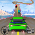 Crazy Car Driving Simulator: Impossible Sky Tracks Game
