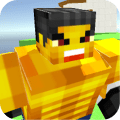 Smash Monster: Blocky Arena Game
