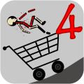 Stickman 4 Turbo Destruction Game