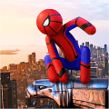 Spider Stickman Rope Hero - Street Gangster Fight Game