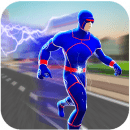 Super Light Speed Robot Hero City Rescue Mission