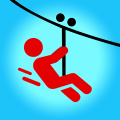 Zipline Valley - Physics Puzzle Game Game