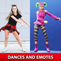 Battle Royale Dances and Emotes Game