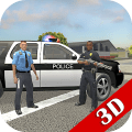 Police Cop Simulator. Gang War Game
