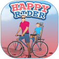 Happy Rider Wheels Game
