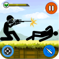 Stickman vs Stickmen Games : Shotgun Shooting Game