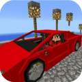 Super Car F. Mod for MCPE Game