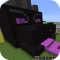 Black fire Dragon Mod for MCPE Game