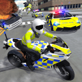 Police Car Driving - Motorbike Riding Game