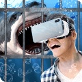Swim Sharks In Cage VR Simulator Game