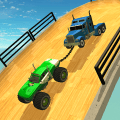 Double Impossible Mega Ramp 3D Game