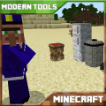 Modern Tools Mod for Mine Craft PE Game