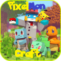 Pixelmon Craft for MCPE +6 skins Game