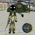 US Army Stickman Rope Hero counter OffRoad Game