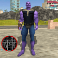 Thanos Rope Hero: Vice Town Game