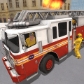 Fire Truck Driving Simulator Game