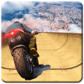 Impossible Mega Ramp Moto Bike Rider Stunts Racing Game