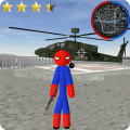 Spider Stickman Rope Hero Gangstar Crime Game