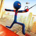 Grand Stickman Rope Hero Adventure Game