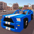 Blocky Car Racer Game