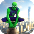 Spider Rope Hero - Gangster Crime City Game