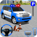 Police Jeep Spooky Stunt Parking 3D Game