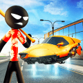 Stickman Gangster Thug City Crime Game