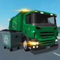 Trash Truck Simulator Game
