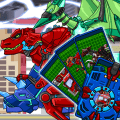 Transform Dino Robot - General Mobilization Game